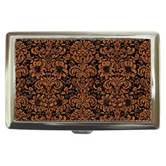 Damask2 Black Marble & Rusted Metal (r) Cigarette Money Cases by trendistuff