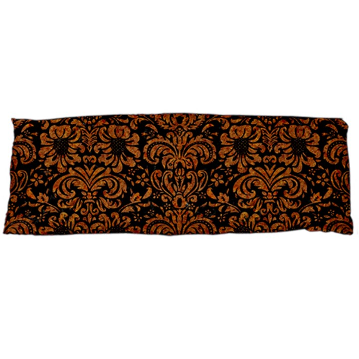 DAMASK2 BLACK MARBLE & RUSTED METAL (R) Body Pillow Case Dakimakura (Two Sides)
