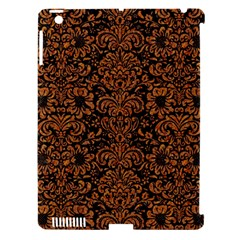 Damask2 Black Marble & Rusted Metal (r) Apple Ipad 3/4 Hardshell Case (compatible With Smart Cover) by trendistuff