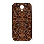 DAMASK2 BLACK MARBLE & RUSTED METAL (R) Samsung Galaxy S4 I9500/I9505  Hardshell Back Case Front