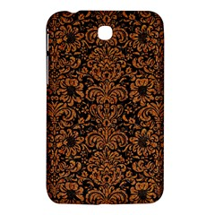 Damask2 Black Marble & Rusted Metal (r) Samsung Galaxy Tab 3 (7 ) P3200 Hardshell Case  by trendistuff