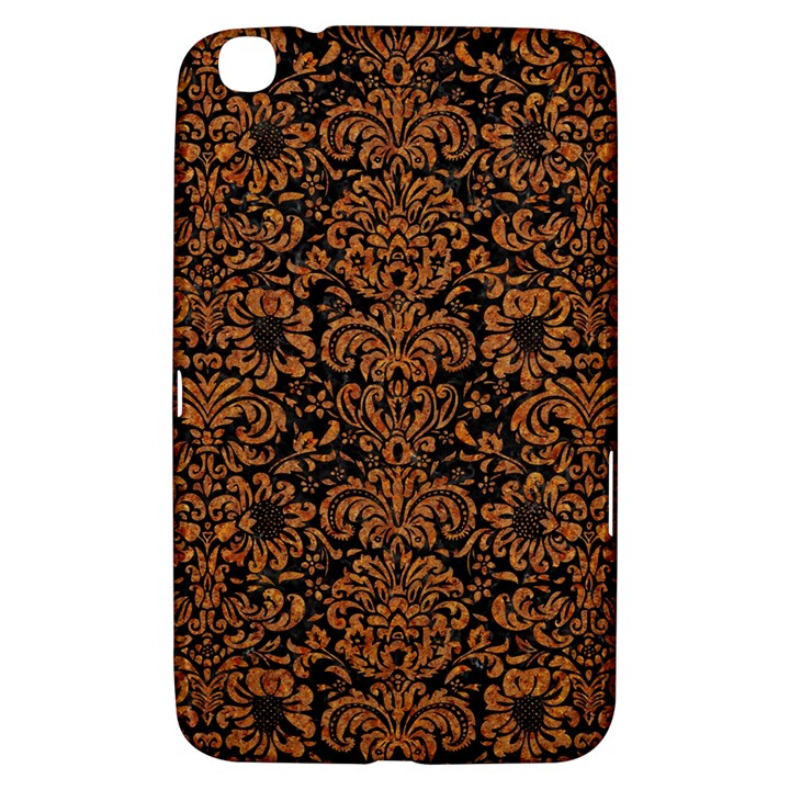 DAMASK2 BLACK MARBLE & RUSTED METAL (R) Samsung Galaxy Tab 3 (8 ) T3100 Hardshell Case