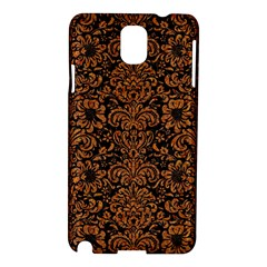 Damask2 Black Marble & Rusted Metal (r) Samsung Galaxy Note 3 N9005 Hardshell Case by trendistuff