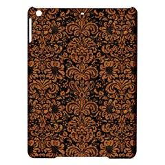 Damask2 Black Marble & Rusted Metal (r) Ipad Air Hardshell Cases by trendistuff