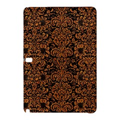 Damask2 Black Marble & Rusted Metal (r) Samsung Galaxy Tab Pro 10 1 Hardshell Case by trendistuff