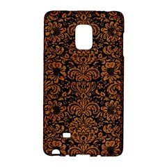 Damask2 Black Marble & Rusted Metal (r) Galaxy Note Edge by trendistuff