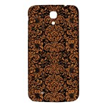 DAMASK2 BLACK MARBLE & RUSTED METAL (R) Samsung Galaxy Mega I9200 Hardshell Back Case Front