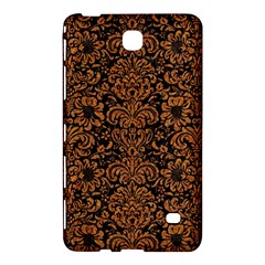 Damask2 Black Marble & Rusted Metal (r) Samsung Galaxy Tab 4 (8 ) Hardshell Case  by trendistuff
