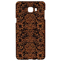 Damask2 Black Marble & Rusted Metal (r) Samsung C9 Pro Hardshell Case  by trendistuff