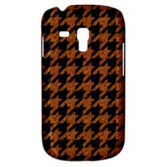 Houndstooth1 Black Marble & Rusted Metal Galaxy S3 Mini by trendistuff