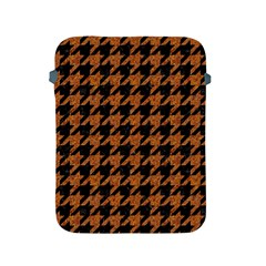 Houndstooth1 Black Marble & Rusted Metal Apple Ipad 2/3/4 Protective Soft Cases by trendistuff