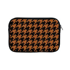 Houndstooth1 Black Marble & Rusted Metal Apple Ipad Mini Zipper Cases by trendistuff