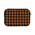 HOUNDSTOOTH1 BLACK MARBLE & RUSTED METAL Apple iPad Mini Zipper Cases Front