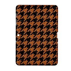 Houndstooth1 Black Marble & Rusted Metal Samsung Galaxy Tab 2 (10 1 ) P5100 Hardshell Case  by trendistuff