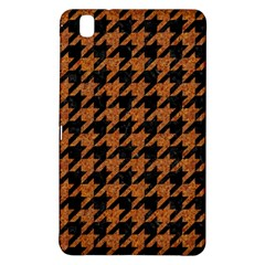 Houndstooth1 Black Marble & Rusted Metal Samsung Galaxy Tab Pro 8 4 Hardshell Case by trendistuff