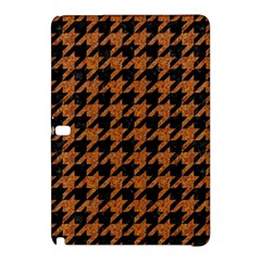 Houndstooth1 Black Marble & Rusted Metal Samsung Galaxy Tab Pro 12 2 Hardshell Case by trendistuff