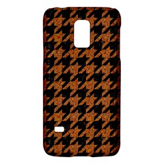 Houndstooth1 Black Marble & Rusted Metal Galaxy S5 Mini by trendistuff