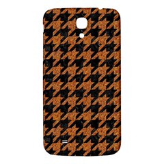 Houndstooth1 Black Marble & Rusted Metal Samsung Galaxy Mega I9200 Hardshell Back Case by trendistuff