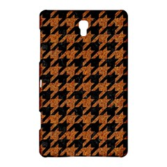 Houndstooth1 Black Marble & Rusted Metal Samsung Galaxy Tab S (8 4 ) Hardshell Case  by trendistuff