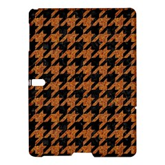 Houndstooth1 Black Marble & Rusted Metal Samsung Galaxy Tab S (10 5 ) Hardshell Case  by trendistuff