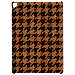 Houndstooth1 Black Marble & Rusted Metal Apple Ipad Pro 12 9   Hardshell Case by trendistuff