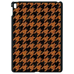 Houndstooth1 Black Marble & Rusted Metal Apple Ipad Pro 9 7   Black Seamless Case by trendistuff
