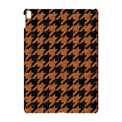 Houndstooth1 Black Marble & Rusted Metal Apple Ipad Pro 10 5   Hardshell Case by trendistuff