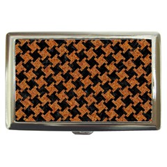 HOUNDSTOOTH2 BLACK MARBLE & RUSTED METAL Cigarette Money Cases