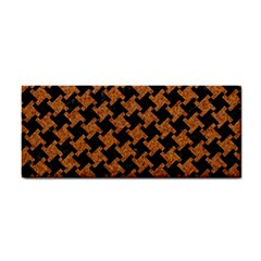 HOUNDSTOOTH2 BLACK MARBLE & RUSTED METAL Cosmetic Storage Cases