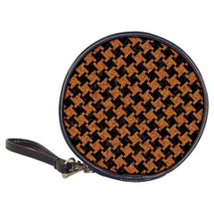 HOUNDSTOOTH2 BLACK MARBLE & RUSTED METAL Classic 20-CD Wallets
