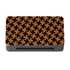 HOUNDSTOOTH2 BLACK MARBLE & RUSTED METAL Memory Card Reader with CF