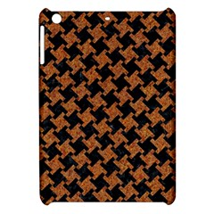 HOUNDSTOOTH2 BLACK MARBLE & RUSTED METAL Apple iPad Mini Hardshell Case