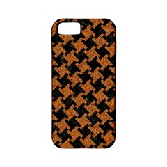 HOUNDSTOOTH2 BLACK MARBLE & RUSTED METAL Apple iPhone 5 Classic Hardshell Case (PC+Silicone)