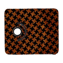 HOUNDSTOOTH2 BLACK MARBLE & RUSTED METAL Galaxy S3 (Flip/Folio)