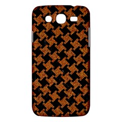 Houndstooth2 Black Marble & Rusted Metal Samsung Galaxy Mega 5 8 I9152 Hardshell Case  by trendistuff