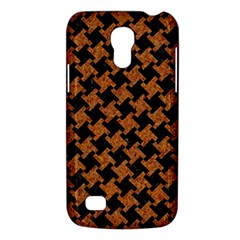 HOUNDSTOOTH2 BLACK MARBLE & RUSTED METAL Galaxy S4 Mini