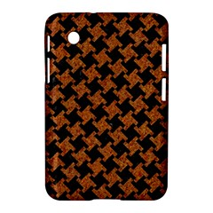 Houndstooth2 Black Marble & Rusted Metal Samsung Galaxy Tab 2 (7 ) P3100 Hardshell Case  by trendistuff