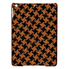 HOUNDSTOOTH2 BLACK MARBLE & RUSTED METAL iPad Air Hardshell Cases