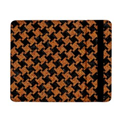HOUNDSTOOTH2 BLACK MARBLE & RUSTED METAL Samsung Galaxy Tab Pro 8.4  Flip Case