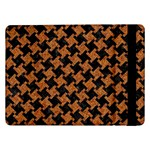 HOUNDSTOOTH2 BLACK MARBLE & RUSTED METAL Samsung Galaxy Tab Pro 12.2  Flip Case Front