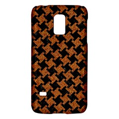 HOUNDSTOOTH2 BLACK MARBLE & RUSTED METAL Galaxy S5 Mini