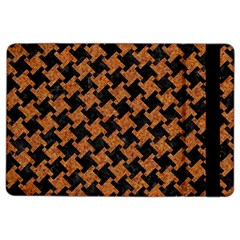 HOUNDSTOOTH2 BLACK MARBLE & RUSTED METAL iPad Air 2 Flip