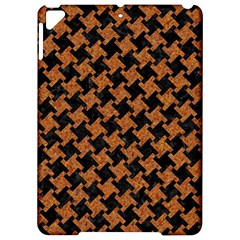 HOUNDSTOOTH2 BLACK MARBLE & RUSTED METAL Apple iPad Pro 9.7   Hardshell Case