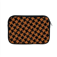 HOUNDSTOOTH2 BLACK MARBLE & RUSTED METAL Apple MacBook Pro 15  Zipper Case