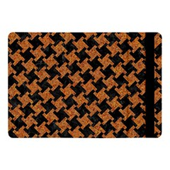 HOUNDSTOOTH2 BLACK MARBLE & RUSTED METAL Apple iPad Pro 10.5   Flip Case