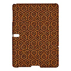 Hexagon1 Black Marble & Rusted Metal Samsung Galaxy Tab S (10 5 ) Hardshell Case  by trendistuff
