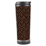 HEXAGON1 BLACK MARBLE & RUSTED METAL (R) Travel Tumbler Center