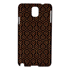Hexagon1 Black Marble & Rusted Metal (r) Samsung Galaxy Note 3 N9005 Hardshell Case by trendistuff