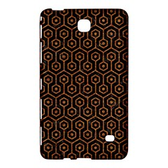 Hexagon1 Black Marble & Rusted Metal (r) Samsung Galaxy Tab 4 (8 ) Hardshell Case  by trendistuff