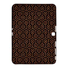 Hexagon1 Black Marble & Rusted Metal (r) Samsung Galaxy Tab 4 (10 1 ) Hardshell Case  by trendistuff